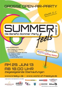 Summer feels 2013-Plakat