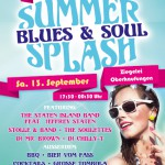 Blues & Soul Summer Splash Flyer