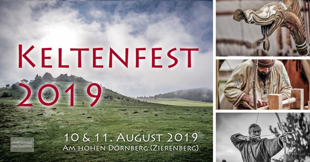 Keltenfest am hohen Dörnberg: 10.+11.08.2019