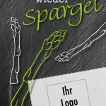 "Spargel-Flyer ""Schiefer"""