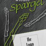 "Spargel-Flyer ""Schiefer"""