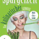 """Spargel-Flyer """"kulinarischer Genuss"""""""